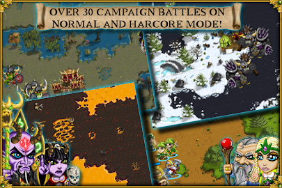 Warlords RTS: Strategy Game Screenshot 4