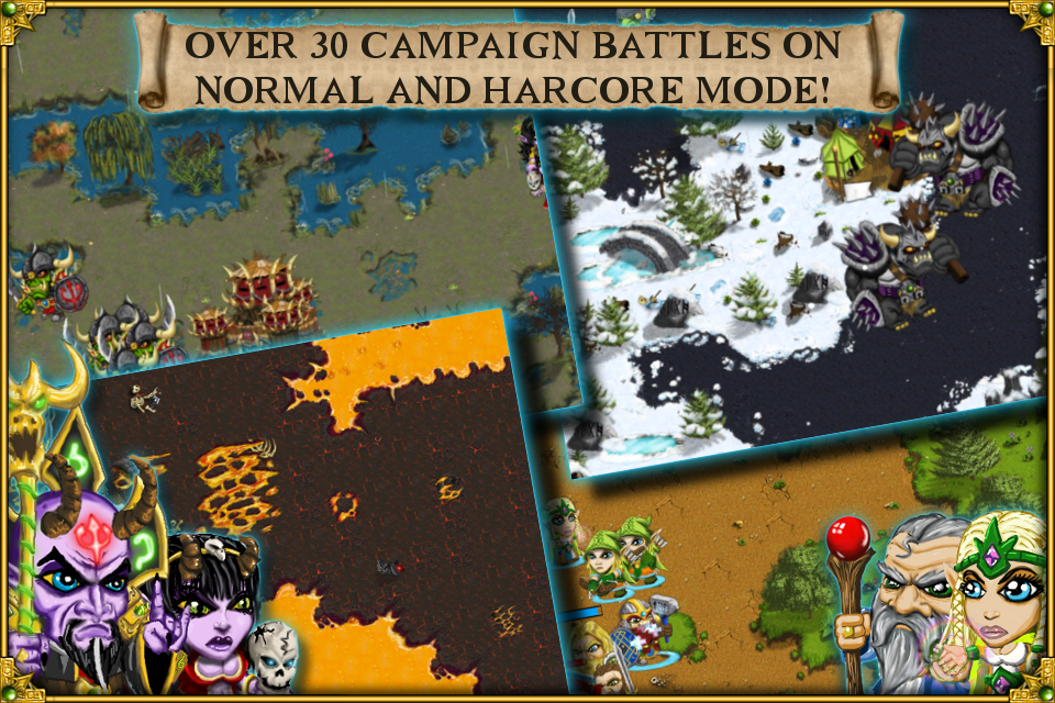 Warlords RTS: Strategy Game screenshot #4
