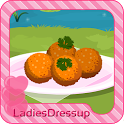 Risotto balls – cooking game icon