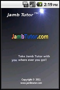 Jamb Tutor - screenshot thumbnail