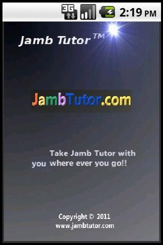 Jamb Tutor - screenshot