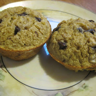 Very Light Banana Muffins