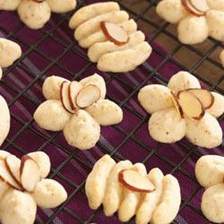 Swedish Almond Spritz Cookies