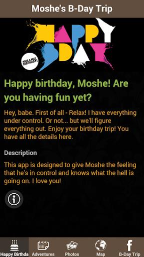 Moshe's B-Day Trip