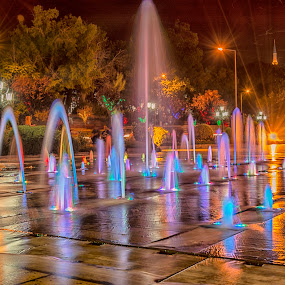 Odrin  by Ева Йорданова - City,  Street & Park  Fountains ( water, fountains, nightlights, walk,  )