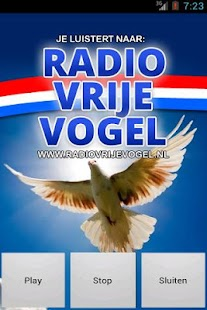 RadioVrijeVogel.nl- screenshot thumbnail