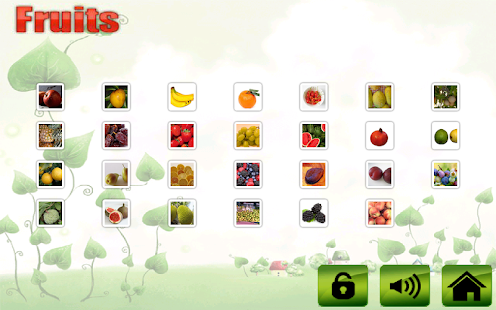 Fruit veg shape color for kids- screenshot thumbnail
