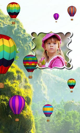 Parachute Photo Live Wallpaper
