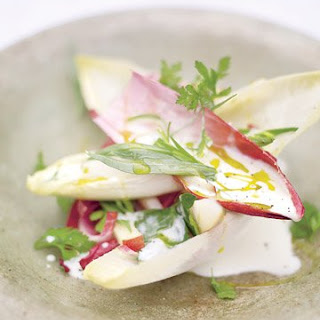 Sweet Pear and Apple Salad with Endive