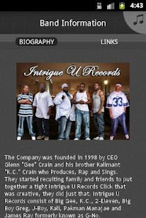 Intrigue U Records - screenshot thumbnail