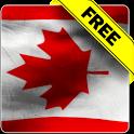 Canada flag free livewallpaper icon