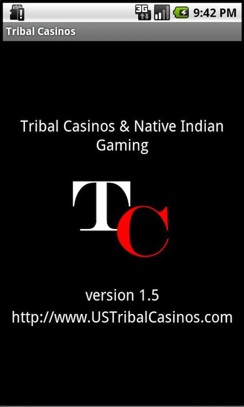 Tribal Casinos Indian Gaming screenshot #1