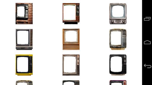 Vintage Tv photo Frames