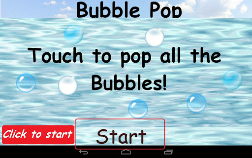 Bubble Pop Babies and Toddlers