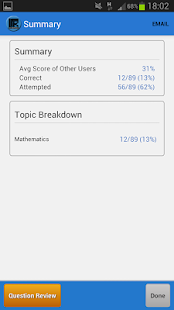 SAT Math MCQ - screenshot thumbnail