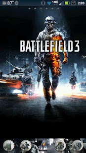 Battlefield3 GoLauncherEX OLD - screenshot thumbnail