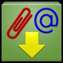 Download email attachment icon