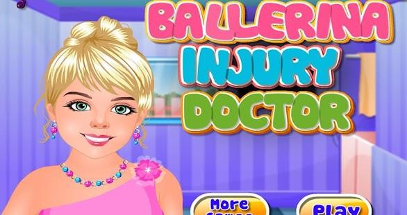 芭蕾舞女演員傷害醫生:治療貝拉的腳傷芭蕾舞舞蹈家。