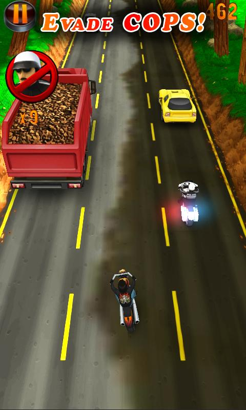 Deadly Moto Racing- screenshot