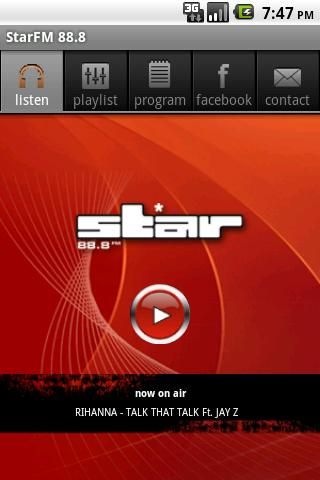 StarFM 88.8- screenshot