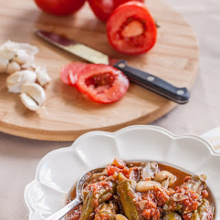 Okra & Sautéed Tomatoes