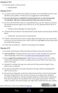 OpenDocument Reader Screenshot 20