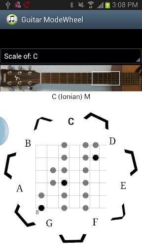 Guitar Mode Wheel
