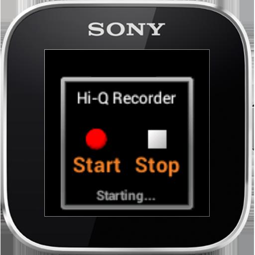 Hi-Q Recorder - SmartWatch App