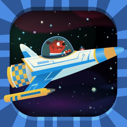 Astroblast! Rocket Rush 教育 App LOGO-硬是要APP