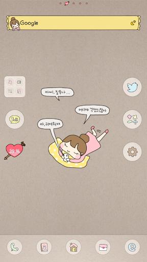 HeartBeat dodol launcher theme