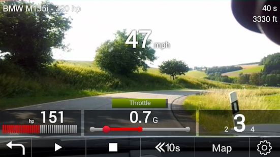M Performance Drive Analyser- screenshot thumbnail