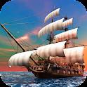 Pirate Ship Live Wallpaper icon