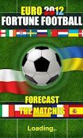 Screenshot of Fortune FootBALL: EURO 2012