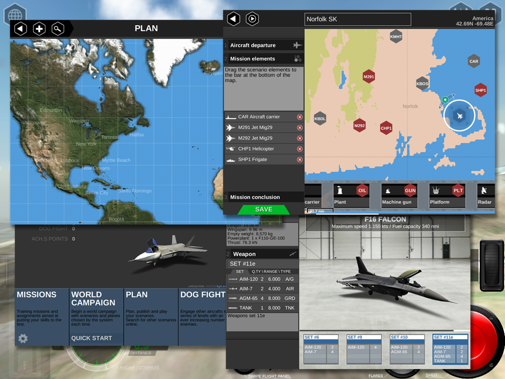 AirFighters Pro - screenshot