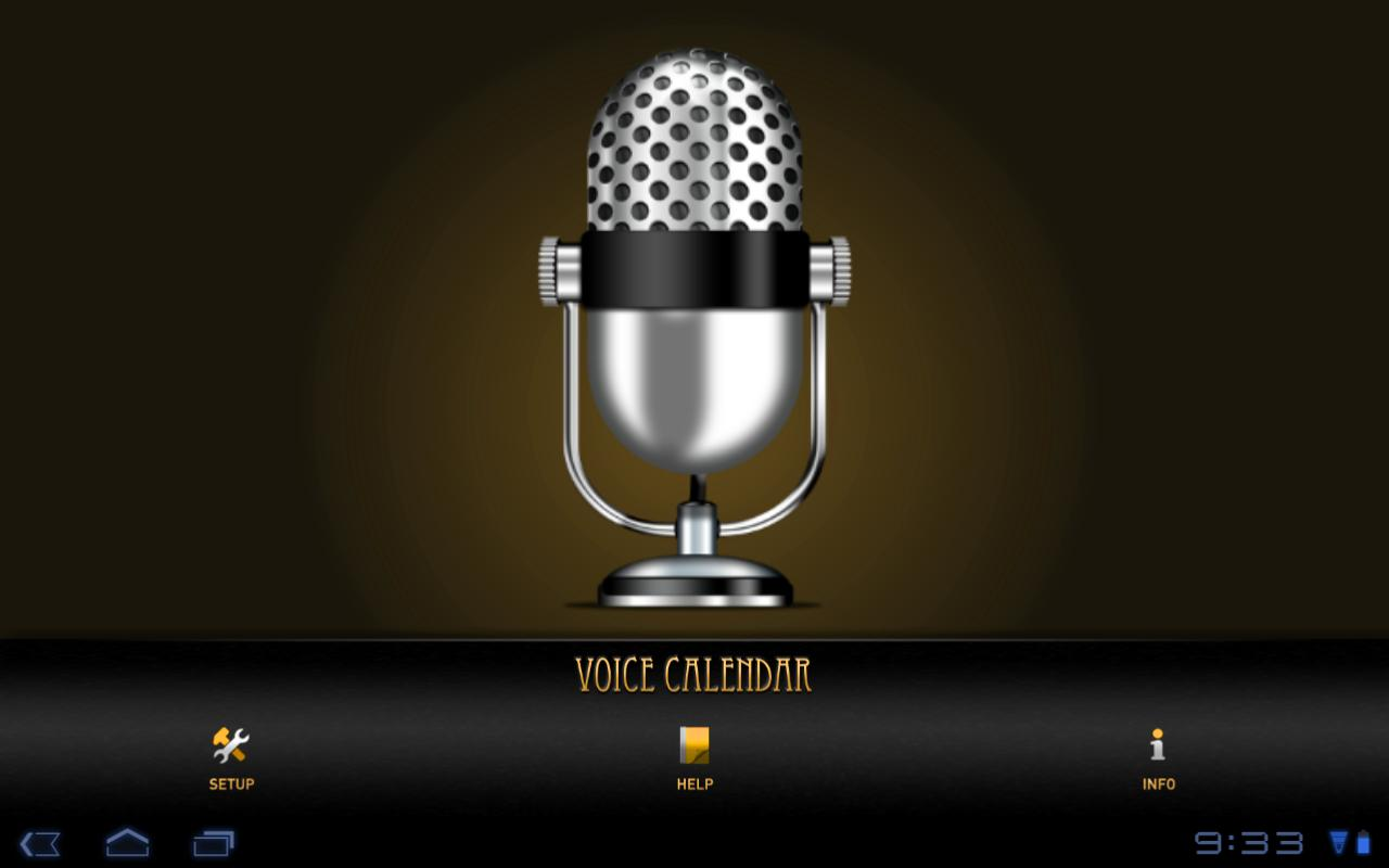 Voice Calendar- screenshot