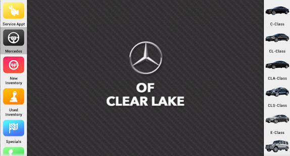 Mercedes benz of clear lake android apps on google play for Mercedes benz of clear lake