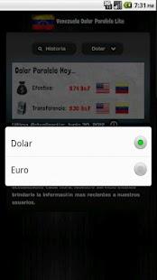 Venezuela Dolar Paralelo Pro - screenshot thumbnail