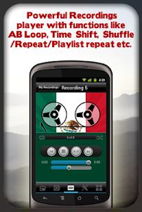 玩音樂App|Mexico Radio - With Recording免費|APP試玩