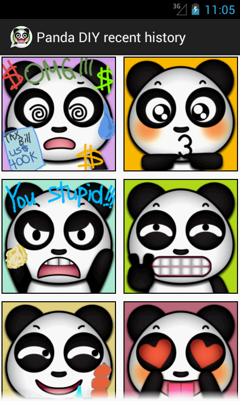 Panda DIY for Chat- screenshot