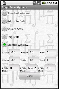 MathPac+ Graphing Calculator - screenshot thumbnail