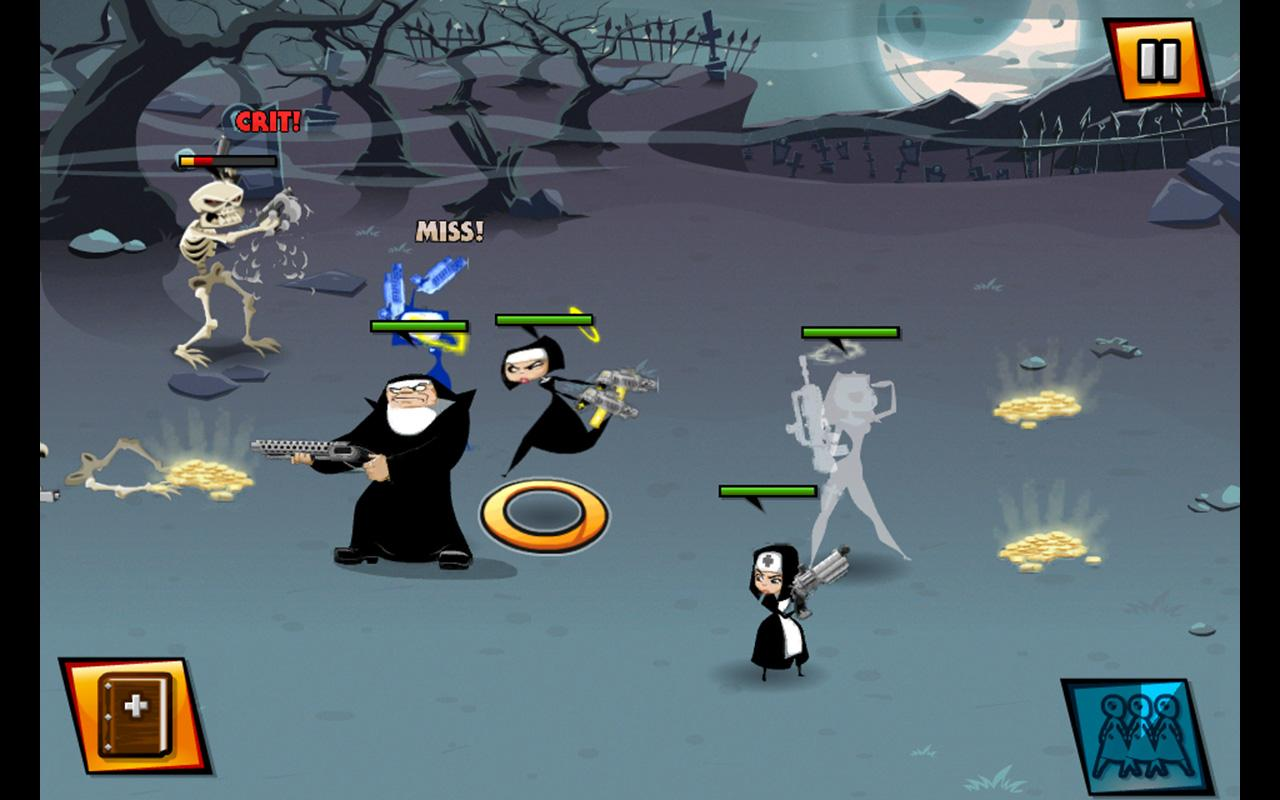 Nun Attack - screenshot
