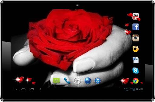 【免費個人化App】Love Roses Poem LWP-APP點子