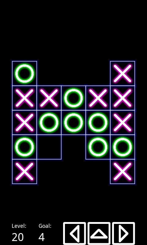 Tic Tac Toe NeO (140 Levels)- screenshot
