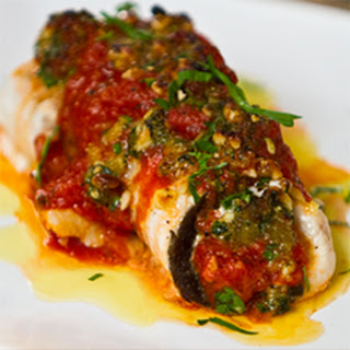Oven Roasted Swordfish Rollatini