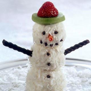 Ice Cream Snowmen.