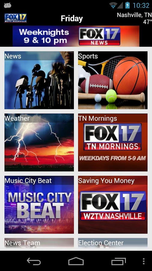 WZTV FOX17 - screenshot