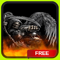 Grim Reaper in Hell LWP icon