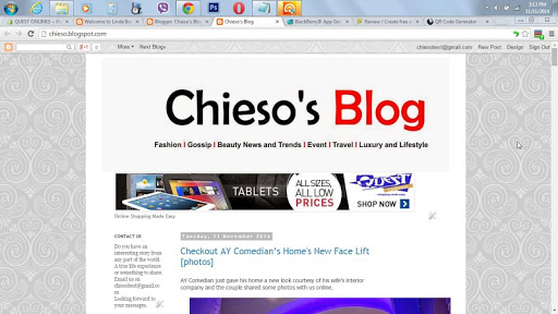 CHIESOS BLOG