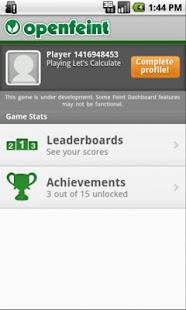 Let's Calculate (Math games)- screenshot thumbnail