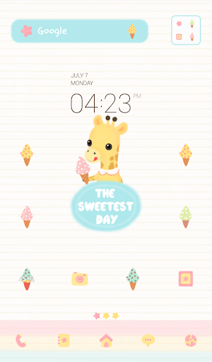 the sweetest day dodol theme